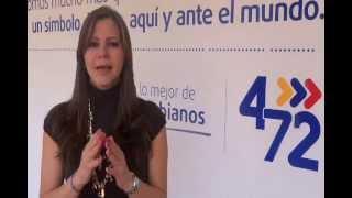 Adriana María Barragán López - Presidenta de 4-72