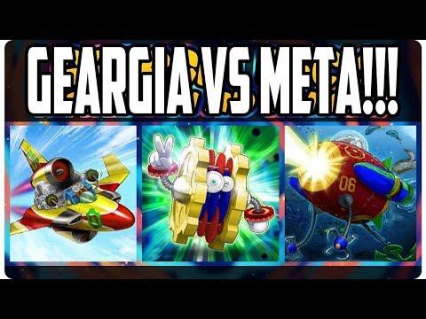 Geargia Deck [META-P2W] vs ALL META (Sylvans, D-Masked Hero) - Yu-Gi-Oh! Duel Links - ZERO