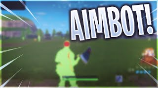 Using Aimbot Hacks On Fortnite (Not Clickbait)