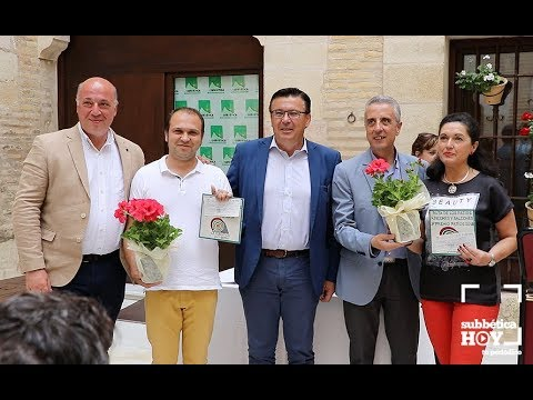 VÍDEO: Entrega de premios del Concurso de Patios, Rincones y Balcones de la Subbética