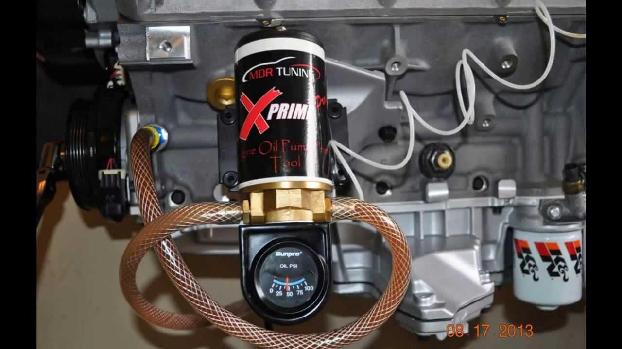 Oil Priming - LS1TECH - Camaro and Firebird Forum Discussion