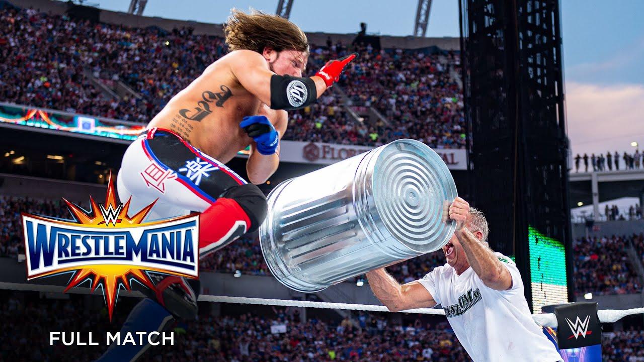 Download FULL MATCH - Shane McMahon vs. AJ Styles: WrestleMania 33