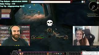 Bajheera - Classic WoW Launch w/ Jenny! (Part 2) - Human Warrior / Priest (Faerlina-NA)