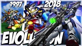 スパロボ ウイングガンダムゼロ (ツインバスターライフル) 進化の軌跡 | Evolution of Gundam Wing (Twin Buster Rifle)