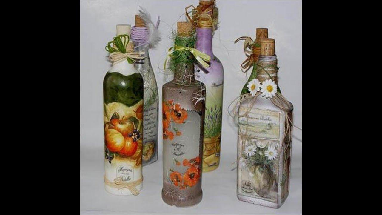Поделки из стеклянных бутылок мк 118