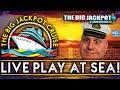🔴 Live at Sea High Limit Slots 🛳