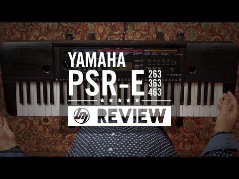 Yamaha PSRE Keyboard Range Overview | Better Music