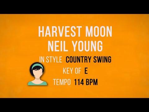 Harvest Moon - Neil Young - Karaoke Female Backing Track