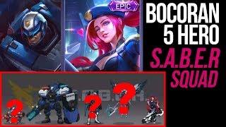 Selain LAYLA & JOHNSON, 3 Hero ini diprediksi masuk ke S.A.B.E.R Squad | Mobile Legends
