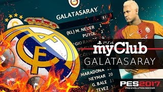 REAL MADRID´en SİYAH Top geldi !!! ★ MyCLUB GALATASARAY ★ PS4