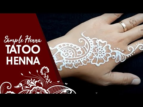Henna Tattoo Simple 1 Whin Henna Youtube