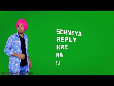 Shy  Harinder Sharma Lyrics Video Randhawa Records  Dreamboy
