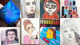 ART Tik Tok Compilation | 7 Minutes of Tiktok Artists Created