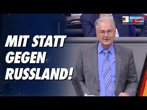 Mit statt gegen Russland! - Roland Hartwig - AfD-Fraktion im Bundestag