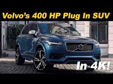 2017 Volvo XC90 T8 Hybrid Review and Road Test - DETAILED in 4K UHD!