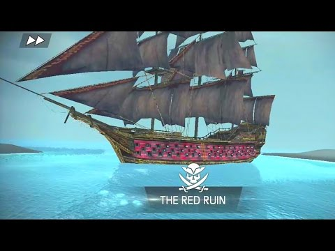 The Red Ruin Super Ship Battle Assassin S Creed Pirates Queen