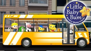 Wheels On The Bus | Part 17 | Nursery Rhymes | Original Song By Littlebabybum!