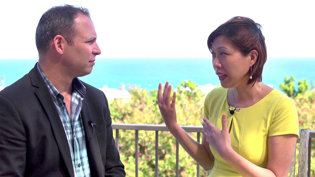 Global Fund Forum 2015 Hub Culture Bermuda with Li Jing, Founder & CEO of Jing Li US