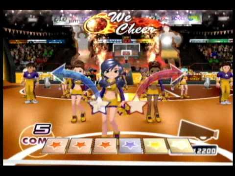 We Cheer 2 (Wii) - Gameplay Sample (La La Land - Demi Lovato)