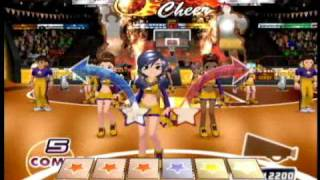 We Cheer 2 (Wii) - Gameplay Sample (La La Land - Demi Lovato)