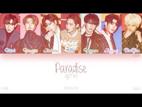 [HAN ROM ENG] GOT7 - Paradise (Color Coded Lyrics)