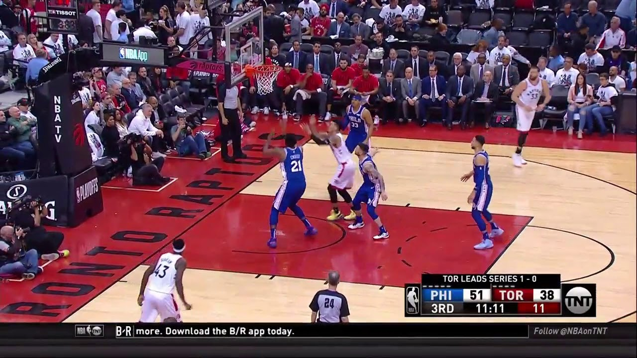 Danny Green All Game Actions 04/29/2019 Philadelphia 76ers ...