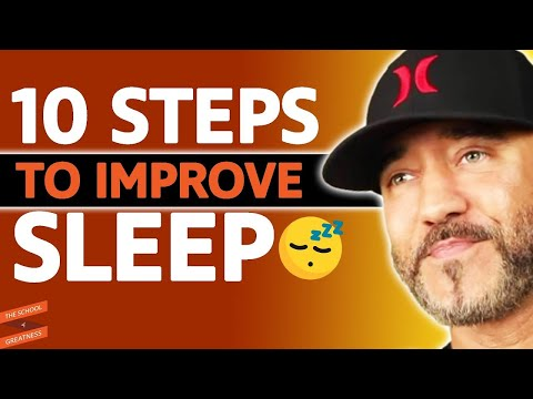 Shawn Stevenson on 10 Ways to Sleep Better Tonight - with Lewis Howes