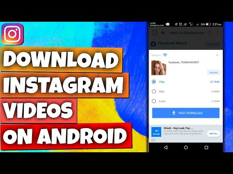 HOW TO DOWNLOAD INSTAGRAM VIDEOS ON ANDROID [ULTRA HD RESOLUTION]
