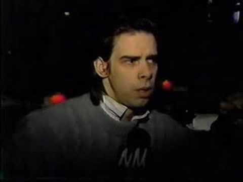 Nick Cave TV Interview RPM Club Toronto, Canada circa 1989