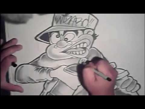 Modacalle zapatos Peru arte urbano Como dibujar personaje en grafitis.mp4 , YouTube