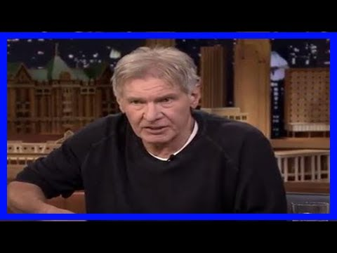 Breaking News | Harrison ford drinks scotch, proves he's still funny