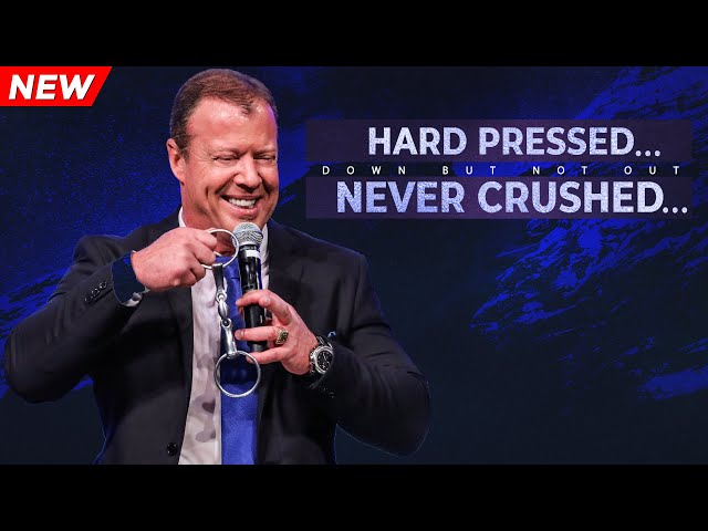 Hard Pressed... Never Crushed | Down But Not Out | Pastor At Boshoff | 13 October 2019 AM