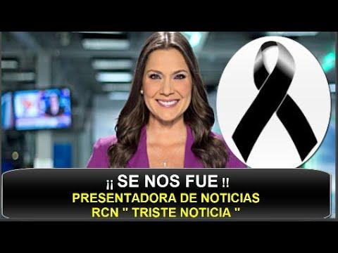 """¡¡ TRISTE NOTICIA !! SUCEDIÓ HACE UNAS HORAS ! """" NOTICIAS RCN ESTÁ DE LUTO """"  JESSICA DE LA PEÑA HOY"""