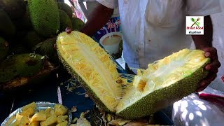 12 Pieces rs 50 | Jack Fruit | Fruit Ninja | Jack Fruit Cutting | Seasonal Fruits in India