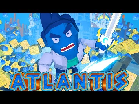 Atlantis Adventures - Professor Pikalus the Mad Scientist! (Minecraft Roleplay) #2