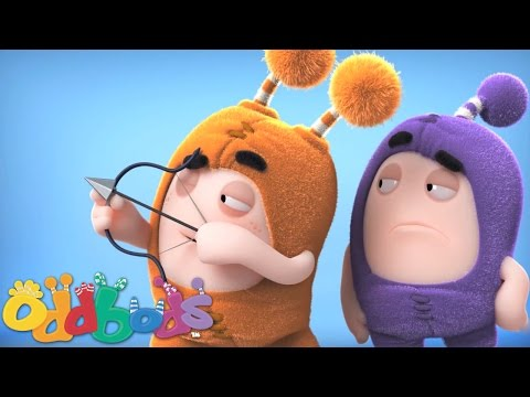 Oddbods-Jeff, Slick and the Apple