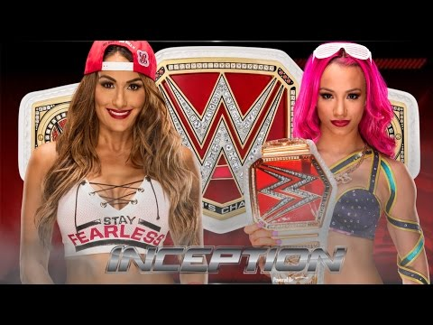 Nikki Bella vs Sasha Banks for Championship |