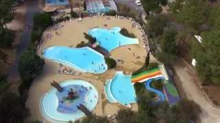 Camping Gironde - Hourtin Plage - Camping Airotel Cote Argent - Vue aerienne
