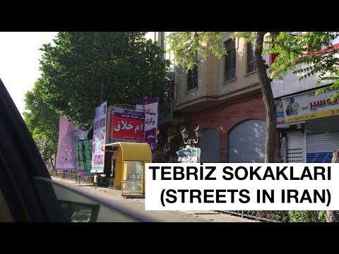 Tebriz İran Sokakları (Tabriz Streets in Iran) Part-4
