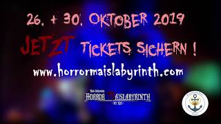 Horror Maislabyrinth - Halloween Party 2019