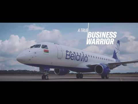 Belavia's new Embraer E-175