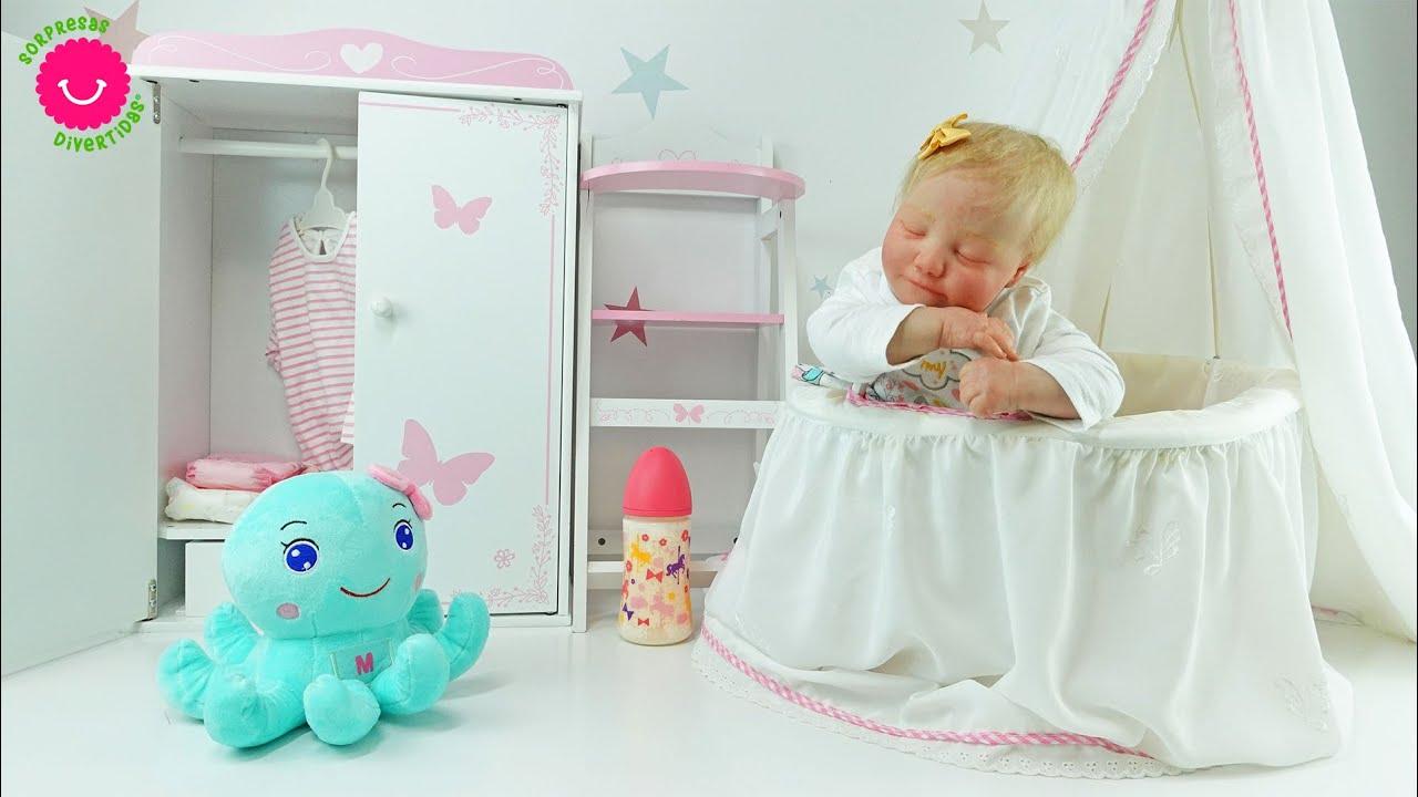 Nueva habitación para la bebé Reborn Martina