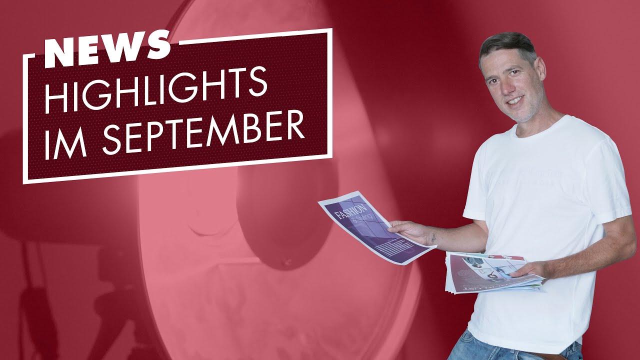 dfm News I Unsere Highlights im September
