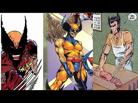 Versiones alternativas de Wolverine - Biografias Banana