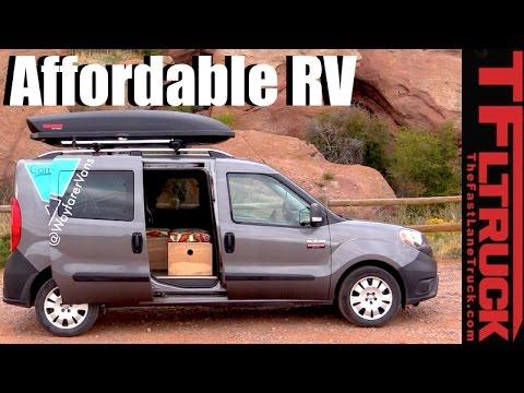 Ram ProMaster City Prefab RV Kit A New Take Of The VW Westfalia DIY Camper