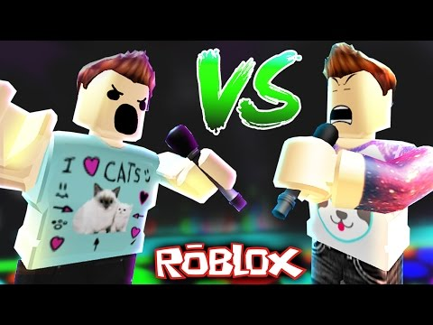DENIS vs ALEX - ROBLOX RAP BATTLE