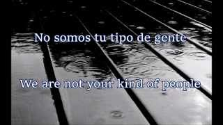 Garbage - Not Your Kind Of People - Letra en Español y Inglés