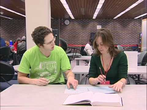 Q Center tutor training: helping students with homework, quizzes, exams
