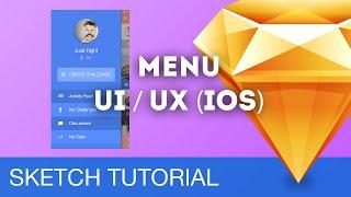 Sketch 3 Tutorial • Menu UI/UX (iOS) • Sketchapp Tutorial & Design Workflow