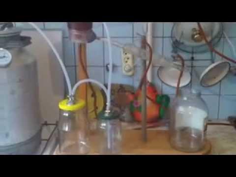 Бульбулятор в самогонном аппарате коптильня электрическая холодного копчения купить